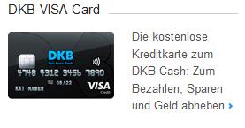 Kostenfreie DKB-VISA mit gratis Geldabheben weltweit