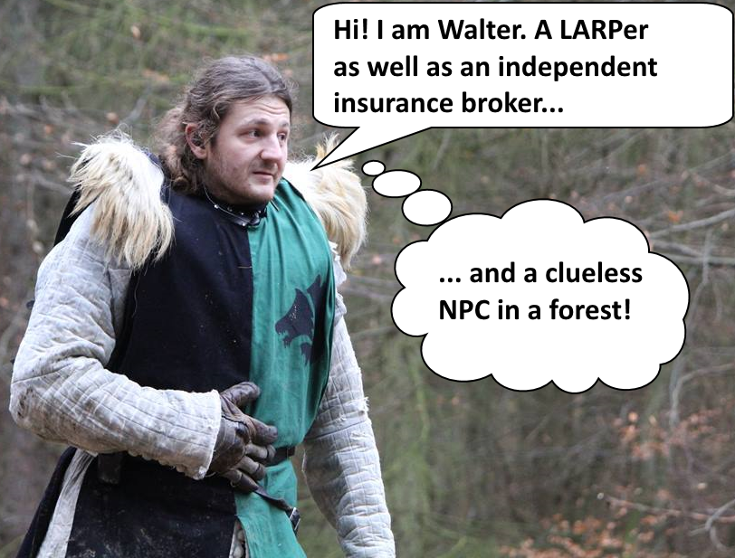 LARPer - Independent Insurance Broker - NPC